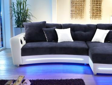 Sofa l nge bis 350cm for Wohnlandschaft bis 3m