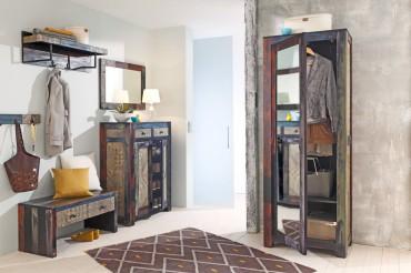 used look. Black Bedroom Furniture Sets. Home Design Ideas