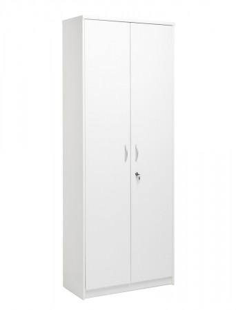 putzschrank koblenz 43 wei 74x188x35 cm besenschrank mehrzweckschrank wohnbereiche k che. Black Bedroom Furniture Sets. Home Design Ideas