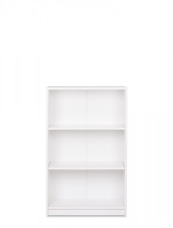 Bücherregal Koblenz 22 weiß 68x112x35 cm Standregal Medienregal Regal – Bild 2