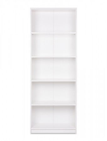 Bücherregal Koblenz 23 weiß 68x188x35 cm Standregal Medienregal Regal – Bild 2