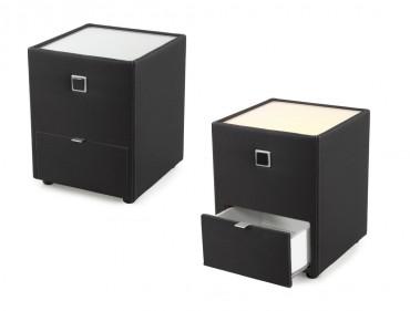 nachttische. Black Bedroom Furniture Sets. Home Design Ideas