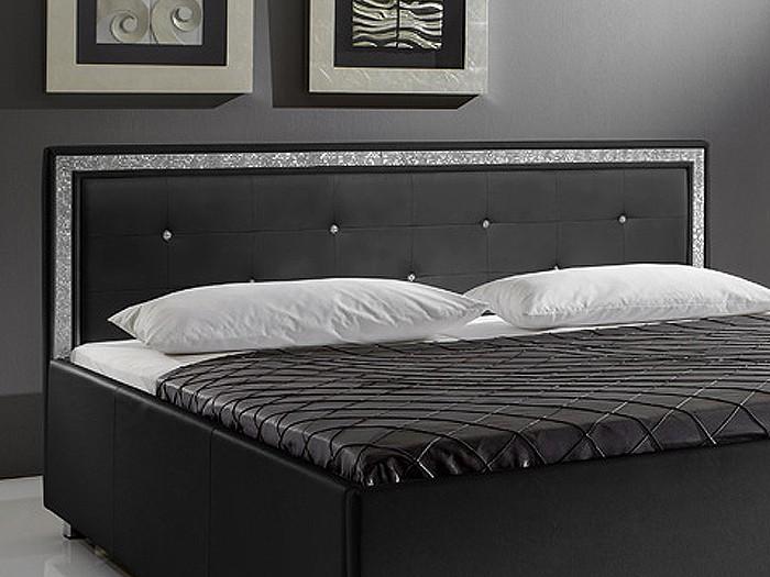 Schlafzimmer : Schlafzimmer Bett Schwarz Schlafzimmer Bett Schwarz ... Schlafzimmer Mit Boxspringbett Einrichten