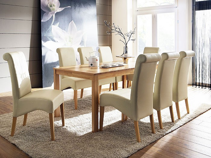 6x polsterstuhl julietta buche natur elektra beige stuhl st hle esszimmerstuhl ebay. Black Bedroom Furniture Sets. Home Design Ideas
