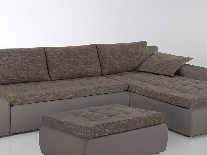 Polsterecke alisa 300x210cm schlammbraun couch sofa for Ecksofa 300 cm