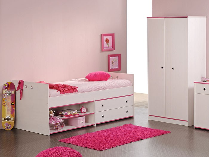 kinderzimmer snoopy 6 kinderbett schrank 2 t rig kiefer nb wei wohnbereiche kinder. Black Bedroom Furniture Sets. Home Design Ideas