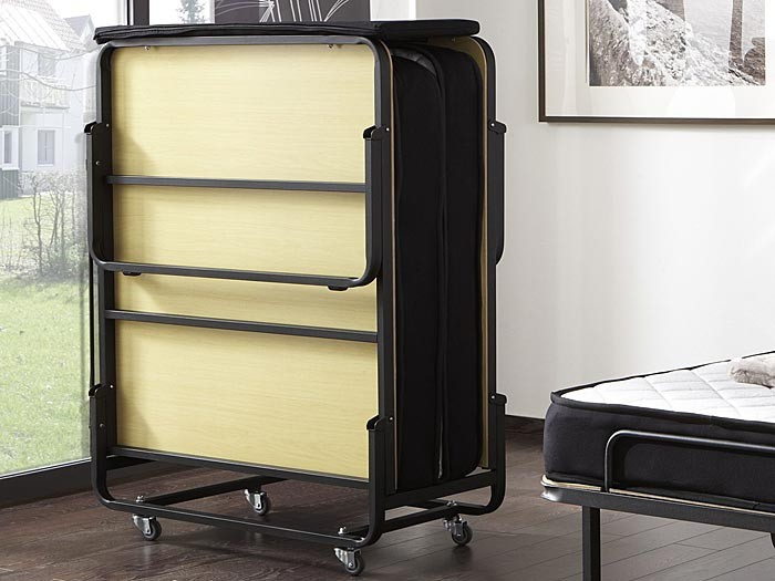 g stebett klappbett kevin 90x200cm mit federkernmatratze. Black Bedroom Furniture Sets. Home Design Ideas
