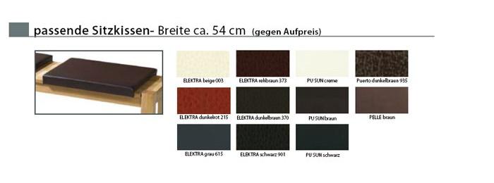 sitzkissen 54cm bank juan tomme elektra beige klemmkissen wohnbereiche esszimmer eckb nke. Black Bedroom Furniture Sets. Home Design Ideas