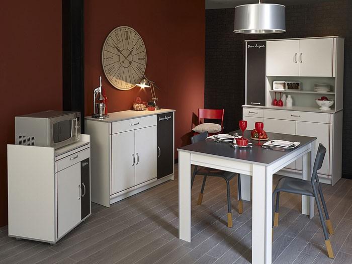 Küchenmöbel komplett Cosina 6, 4-teilig weiß, Schrank Anrichte ... | {Küchenmöbel weiß 15}