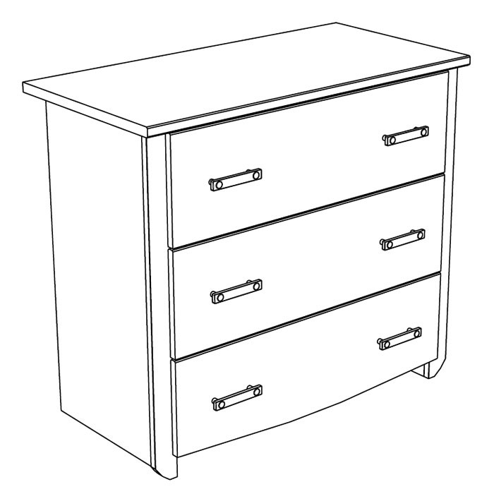kommode beauty 10 90x79x45 cm wei rosa schubkastenkommode schrank kinderzimmer ebay. Black Bedroom Furniture Sets. Home Design Ideas