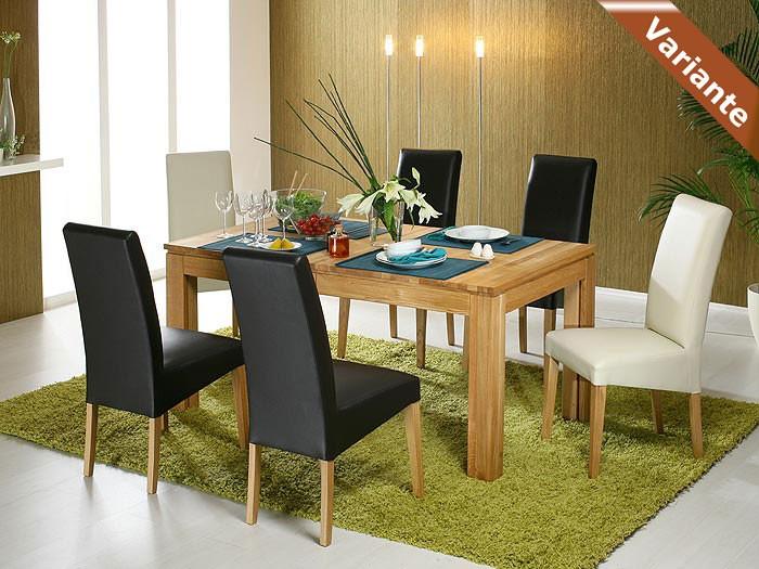 essgruppe wahlweise tisch allround stuhl robin braun bank tomme wohnbereiche esszimmer. Black Bedroom Furniture Sets. Home Design Ideas
