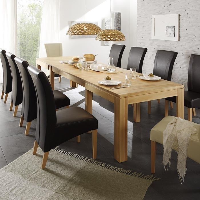 essgruppe wahlweise: tisch allround + stuhl robin braun + bank, Esstisch ideennn