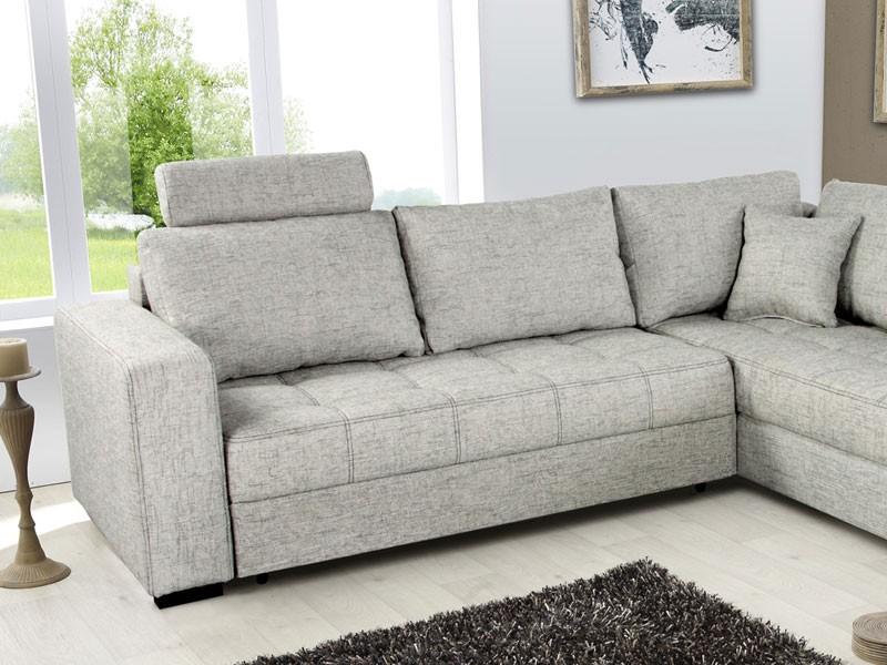 polsterecke aurum hellgrau 267x221cm bettfunktion couch wohnlandschaft eckcouch ebay. Black Bedroom Furniture Sets. Home Design Ideas