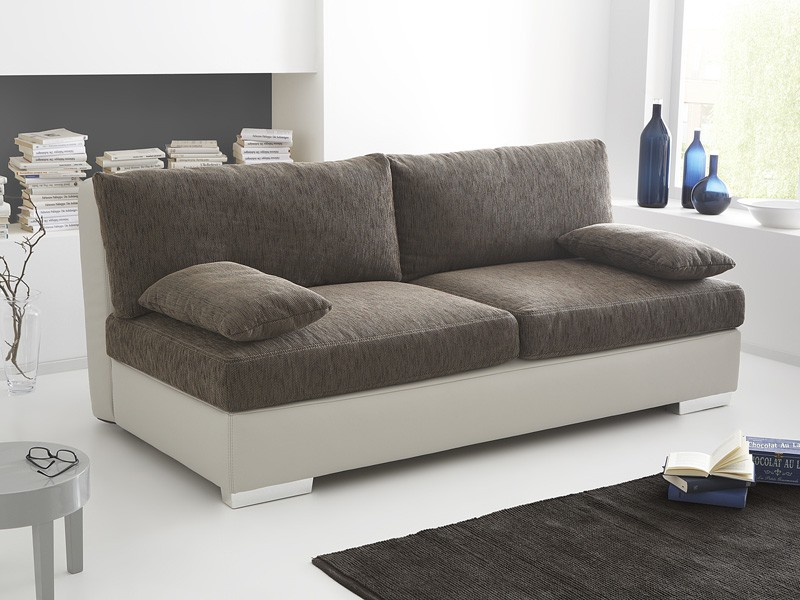 boxspring schlafsofa somerset braun beige 202x106cm dauerschl fer wohnbereiche wohnzimmer sofa. Black Bedroom Furniture Sets. Home Design Ideas