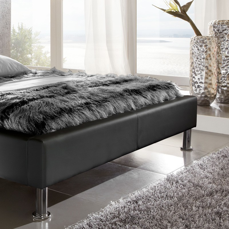 bett 140x200 schwarz interesting metallbett sonja metall ca x cm with bett 140x200 schwarz. Black Bedroom Furniture Sets. Home Design Ideas