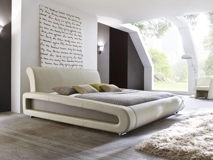 polsterbett blain 160x200cm beige muddy bettgestell. Black Bedroom Furniture Sets. Home Design Ideas