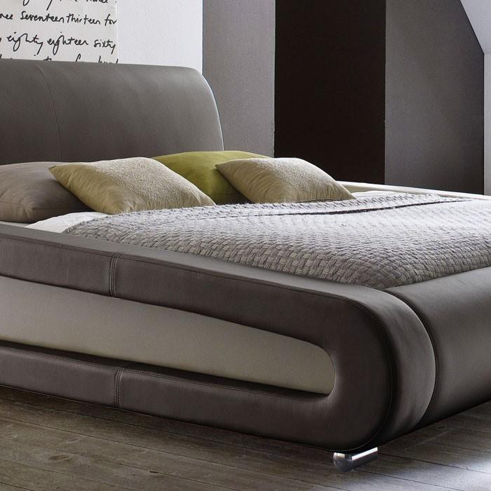 polsterbett komplett blain bett 180x200 braun lattenrost matratzen wohnbereiche schlafzimmer. Black Bedroom Furniture Sets. Home Design Ideas