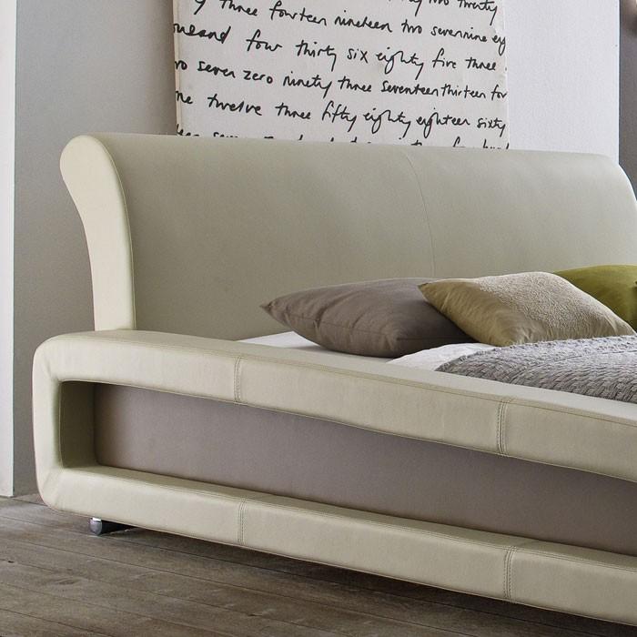 polsterbett komplett blain bett 160x200 beige lattenrost. Black Bedroom Furniture Sets. Home Design Ideas