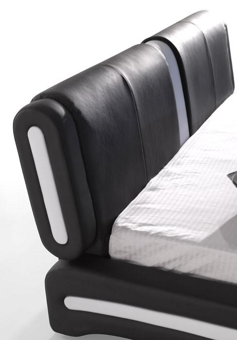 polsterbett komplett malin bett 140x200 schwarz. Black Bedroom Furniture Sets. Home Design Ideas
