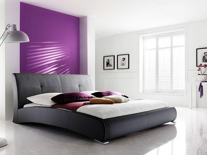 Polsterbett komplett Amadeo Bett 180x200 schwarz + Lattenrost + ...