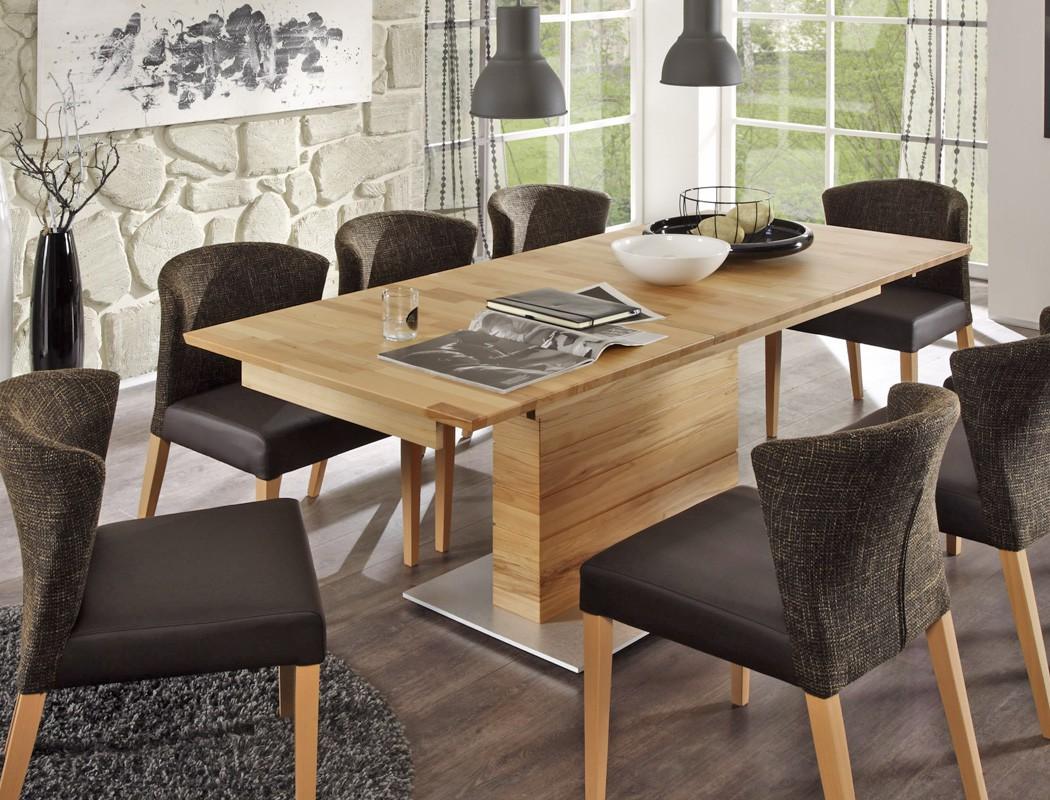 s ulentisch ataro a 2xl bootsform tisch ausziehbar querfr sung esstisch wohnbereiche esszimmer. Black Bedroom Furniture Sets. Home Design Ideas