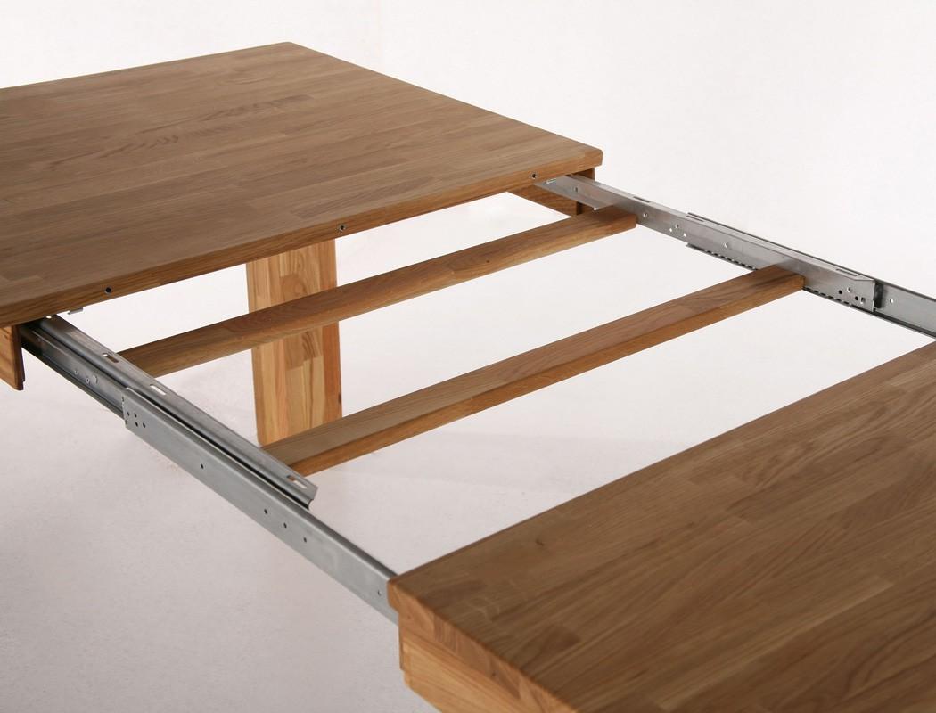 Eichetisch barnet 1xl esstisch ausziehbar massivholztisch for Massivholztisch eiche