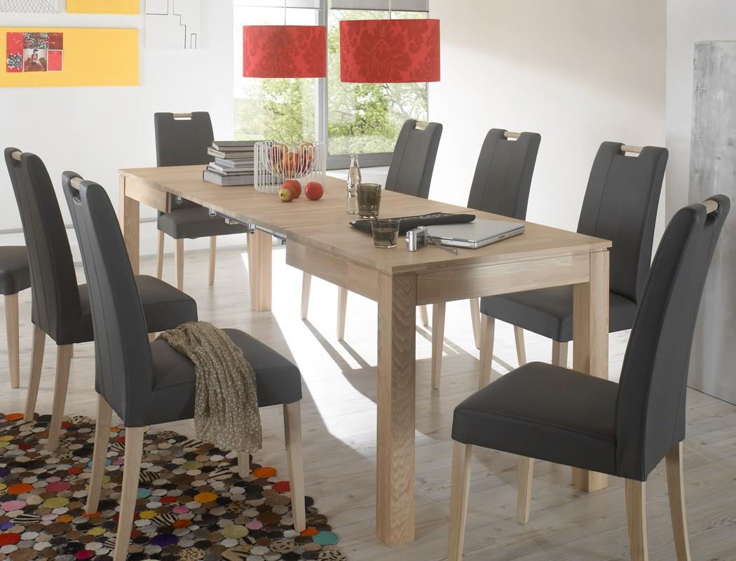 hochwertiger esstisch ausziehbar 140x80 ausziehtisch. Black Bedroom Furniture Sets. Home Design Ideas