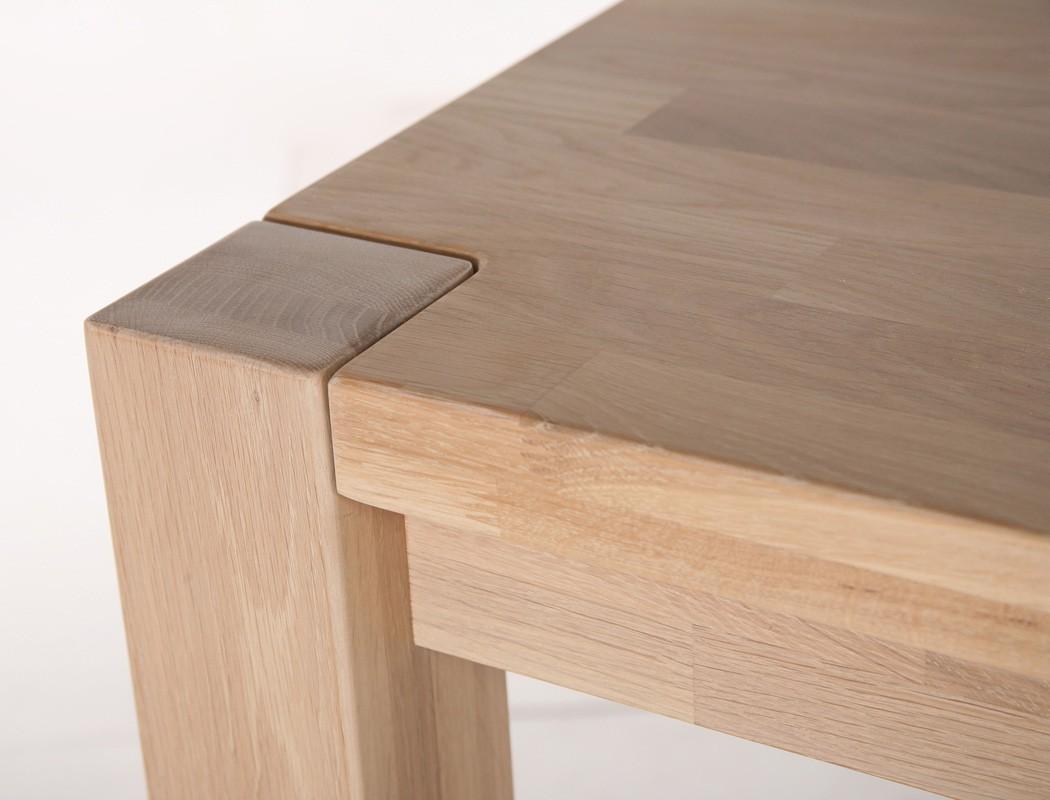 Esstisch tim esszimmertisch mit fester platte varianten for Esszimmertisch mit marmorplatte