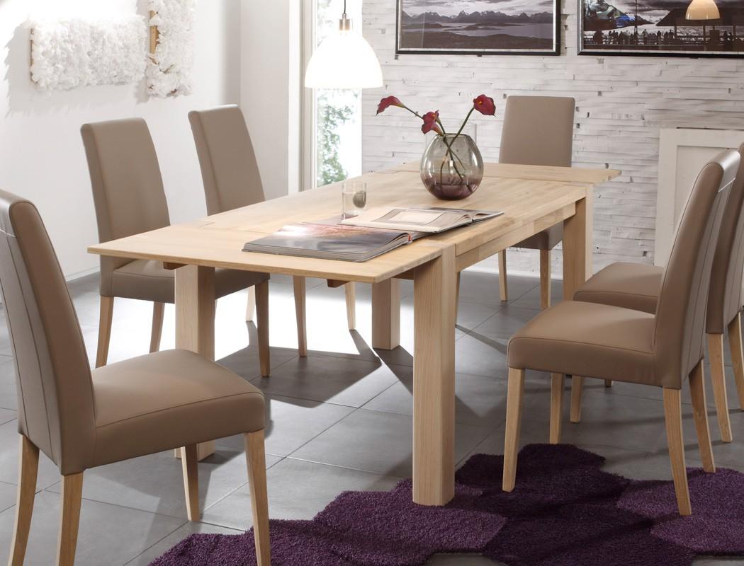 Esstisch Tim XL erweiterbar Ansteckplatten Holztisch  ~ Esstisch Yoga Xl