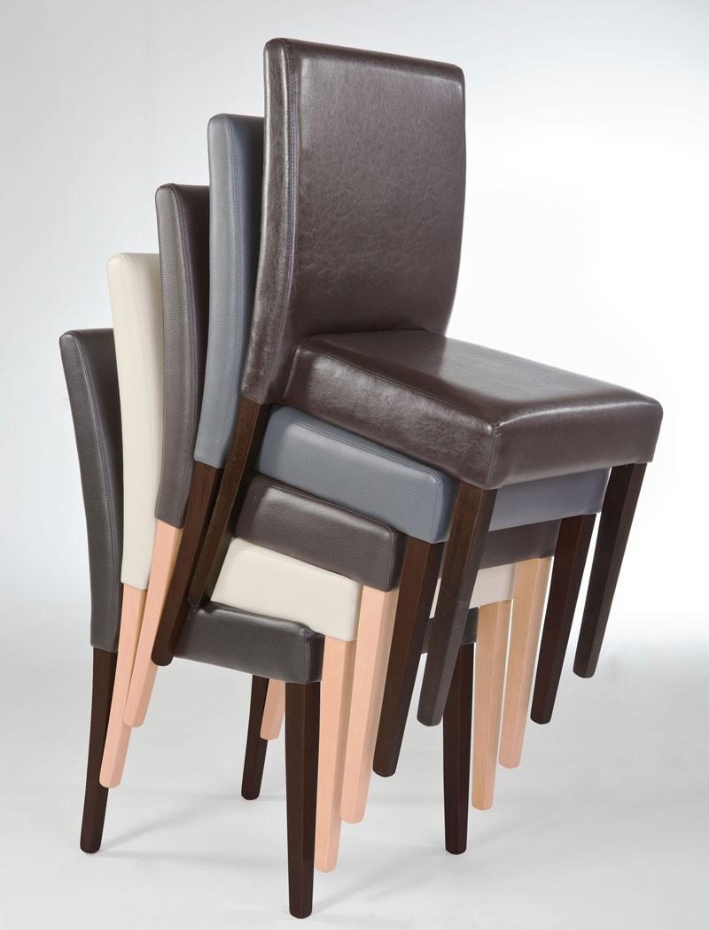 Stuhl zenas polsterstuhl varianten stapelstuhl for Stapelstuhl esszimmer