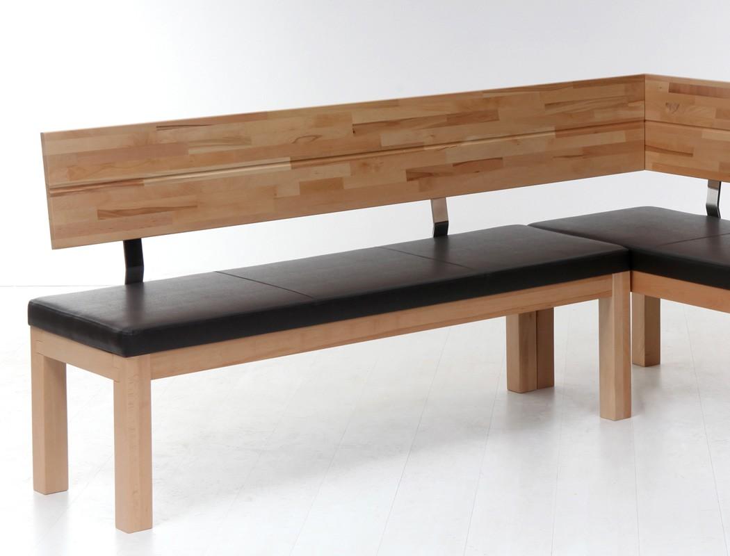 eckbank luca small 190x150cm holzbank varianten massivholz. Black Bedroom Furniture Sets. Home Design Ideas