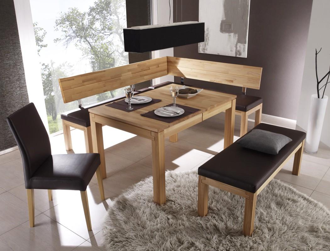 eckbank luca middle 208x171cm holzbank varianten massivholz sitzecke wohnbereiche esszimmer. Black Bedroom Furniture Sets. Home Design Ideas