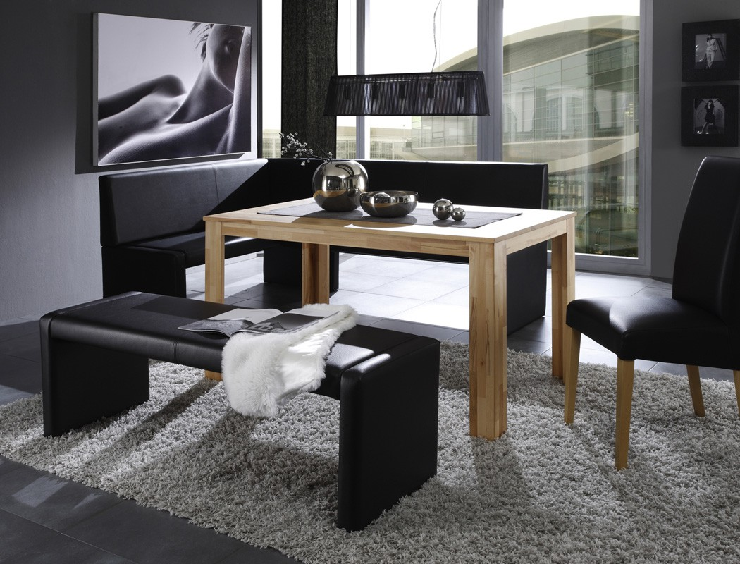 bank bern ohne lehne 140cm sitzbank varianten polsterbank. Black Bedroom Furniture Sets. Home Design Ideas