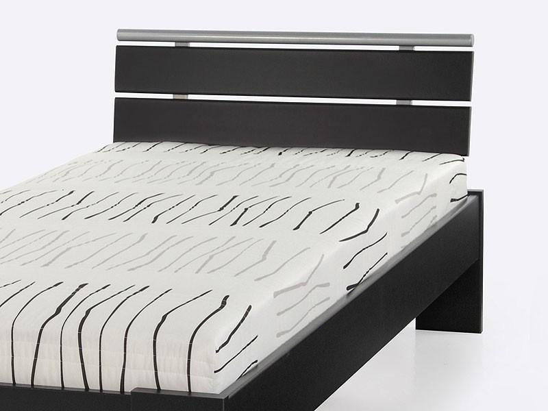 jugendbett cortina 90x200 schwarz bett komplett rollrost matratze singlebett ebay. Black Bedroom Furniture Sets. Home Design Ideas