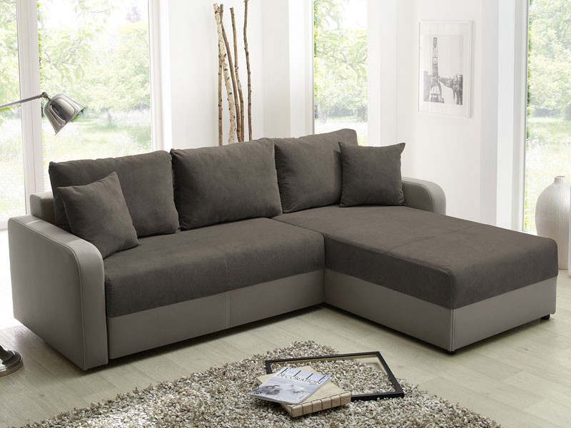 ecksofa malaga 238x182cm braun elefant schlafsofa couch polsterecke wohnzimmer ebay. Black Bedroom Furniture Sets. Home Design Ideas