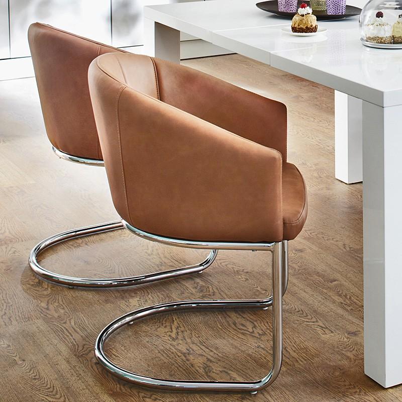 stuhl esszimmer freischwinger. Black Bedroom Furniture Sets. Home Design Ideas