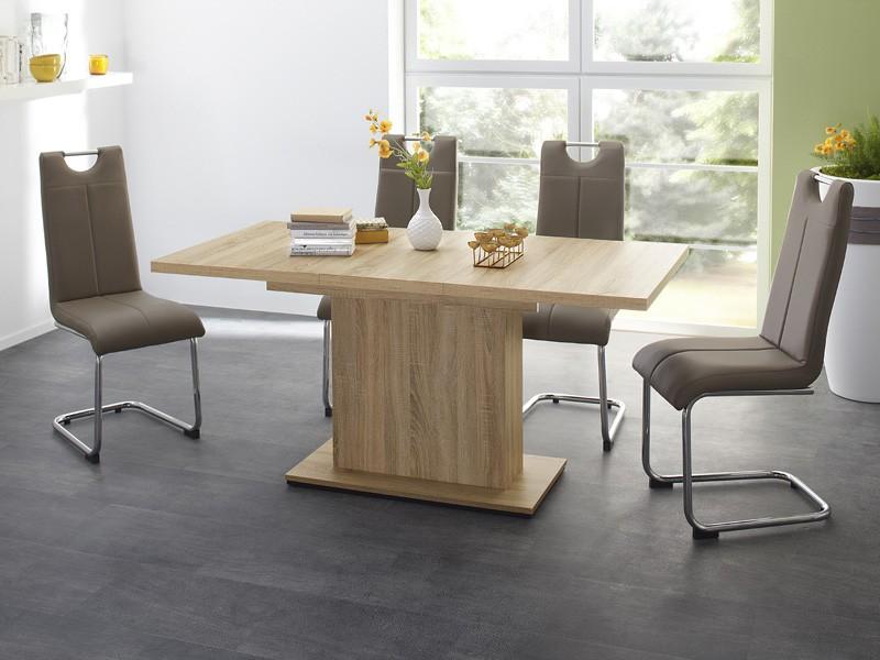 essgruppe tischgruppe patrick 120 160 x80 4x schwinger. Black Bedroom Furniture Sets. Home Design Ideas