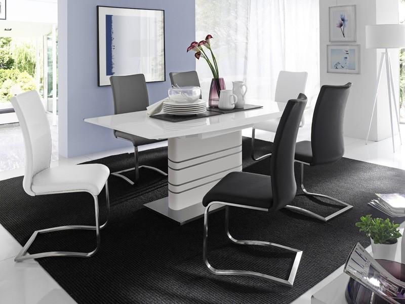 Stuhlgruppe freischwinger stuhl farbauswahl schwingstuhl - Schwingstuhl mit lehne ...