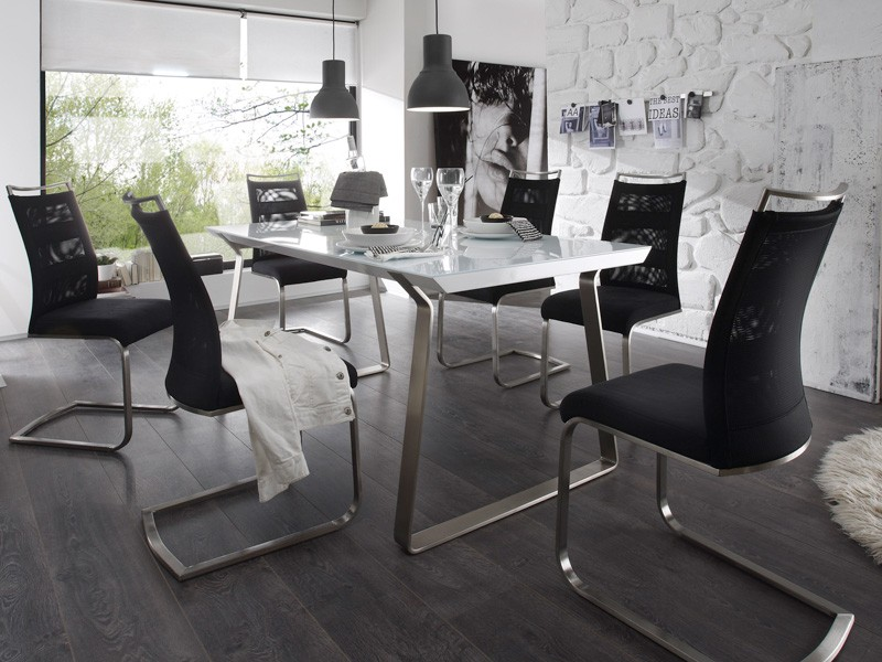 stuhlgruppe freischwinger candi iv farbwahl schwingstuhl schwinger wohnbereiche esszimmer. Black Bedroom Furniture Sets. Home Design Ideas