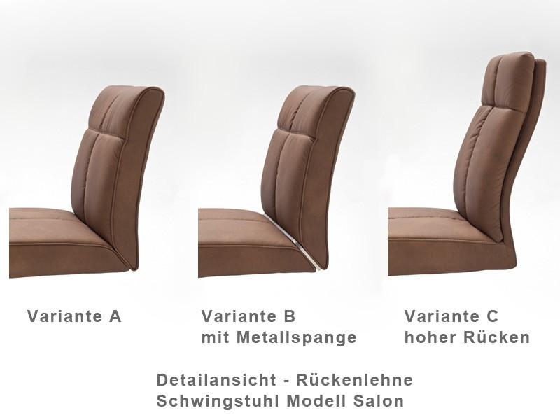 Stuhlgruppe schwingstuhl salon cs struktur schwingsessel schwinger wohnbereiche esszimmer - Schwingstuhl mit lehne ...