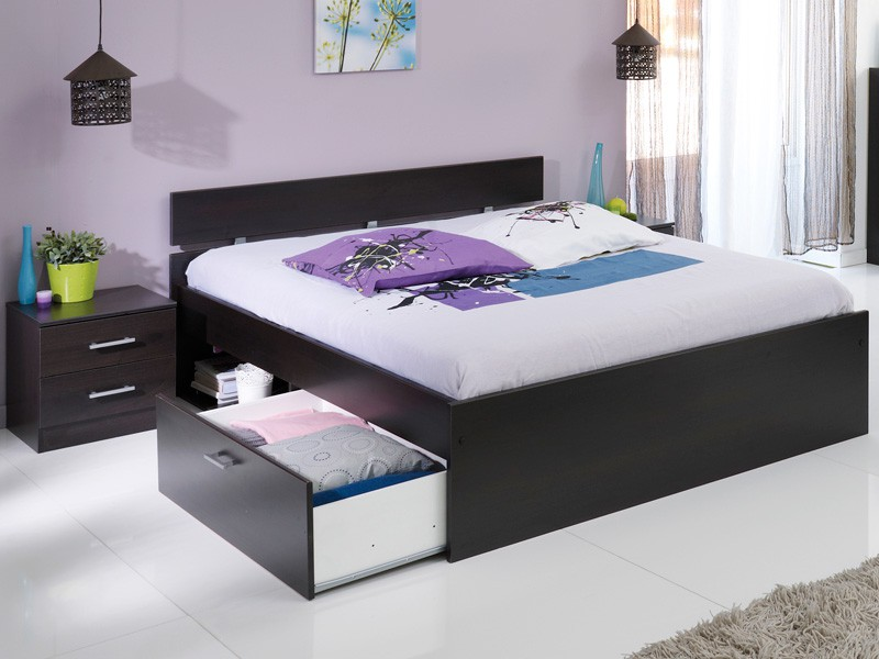 Jugendzimmer Inaco 211 kaffee Schlafzimmer 4-teilig komplett, Bett ...