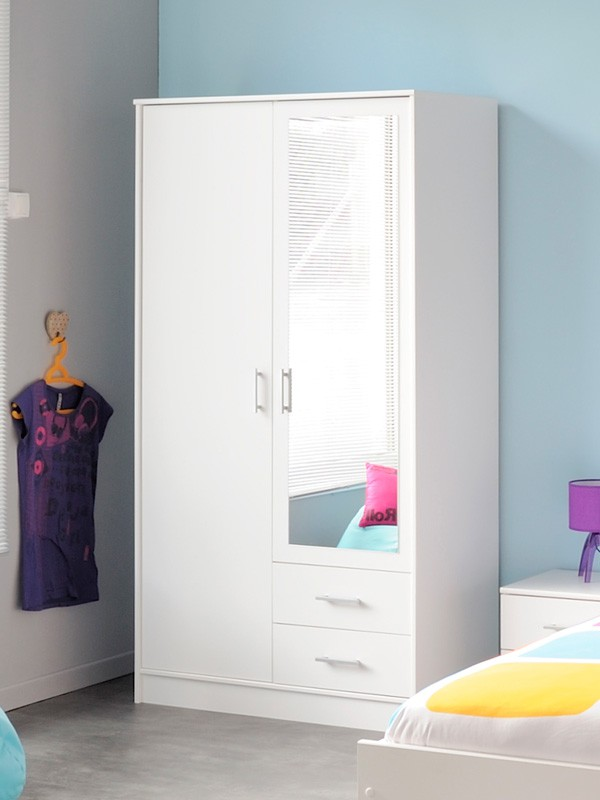 kinderzimmer komplett wei jugendzimmer 5 teilig schrank. Black Bedroom Furniture Sets. Home Design Ideas