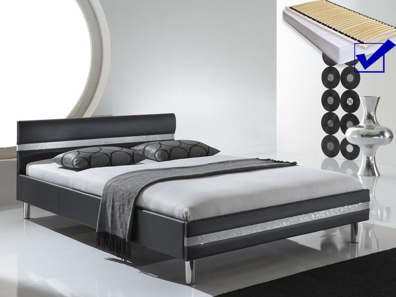 Hochwertig Good Bett X Schwarz Metall Eisenbett Betten U Hause Deko With Bett 140x200  Grau