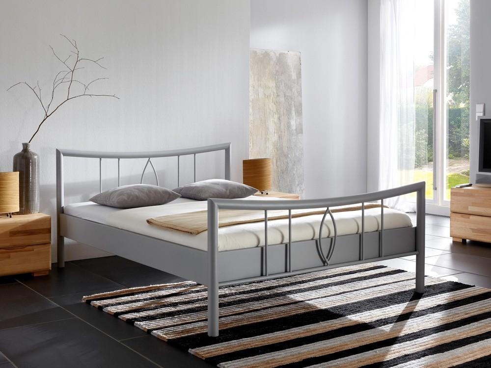 metallbett lucie versch varianten bettgestell. Black Bedroom Furniture Sets. Home Design Ideas