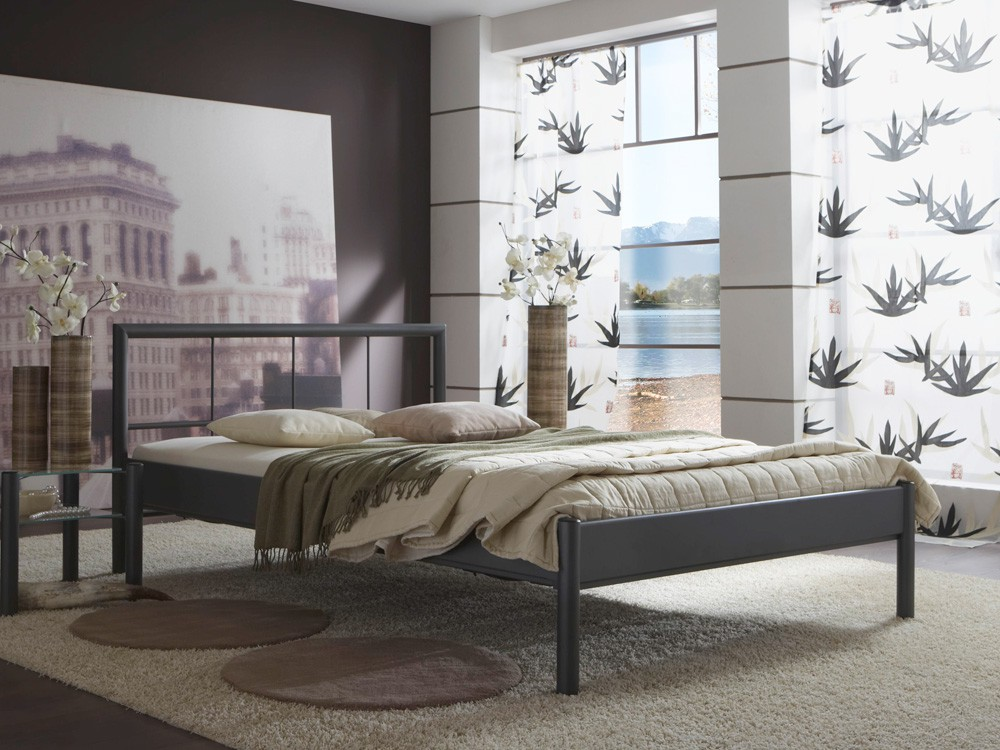 metallbett bente versch varianten bettgestell. Black Bedroom Furniture Sets. Home Design Ideas
