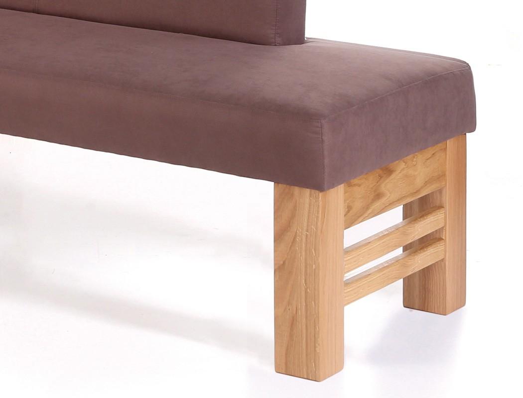 sitzbank flavio mit lehne 130cm 150cm gestell c. Black Bedroom Furniture Sets. Home Design Ideas