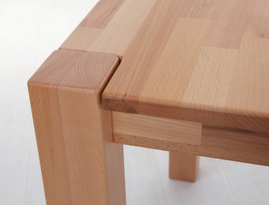 Esstisch georg 140x80cm tisch fest oder ausziehbar for Tisch mit wechselndem design