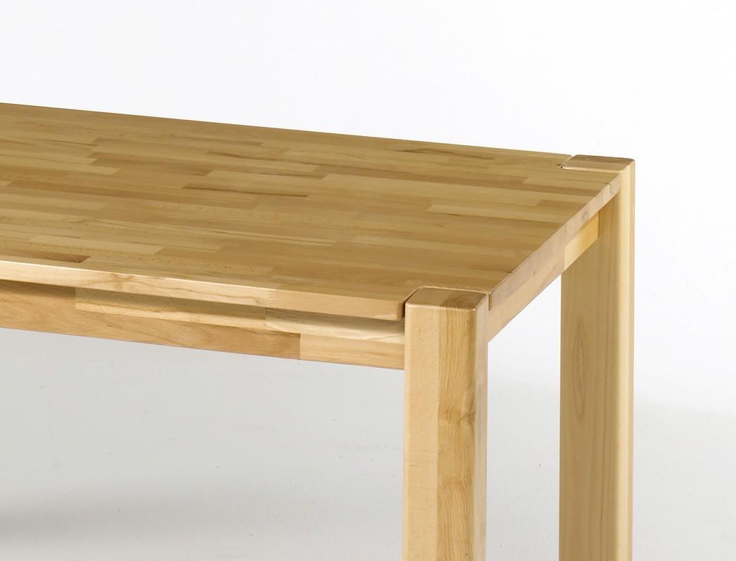 Hochwertiger esstisch 160x90 massivholz tisch ausziehbar for Esstisch 160 x 80
