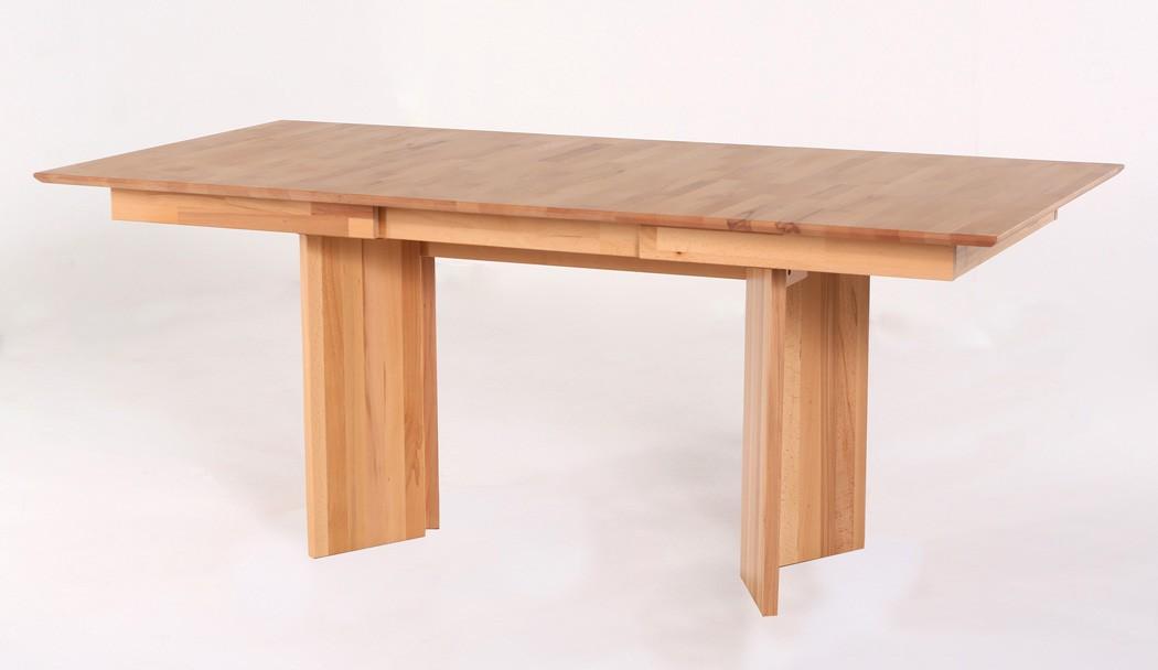 Wangentisch joel varianten fest oder ausziehbar for Massivholztisch ausziehbar