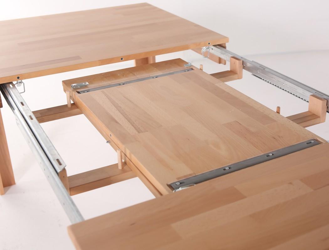 massivholztisch petri tisch ausziehbar oder fest esstisch k chentisch wohnbereiche esszimmer. Black Bedroom Furniture Sets. Home Design Ideas